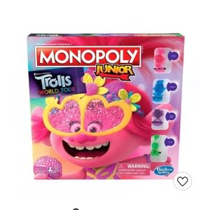 New Trolls Monopoly Junior Game